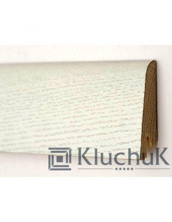 Плинтус Kluchuk Рустик 80 Дуб Белый