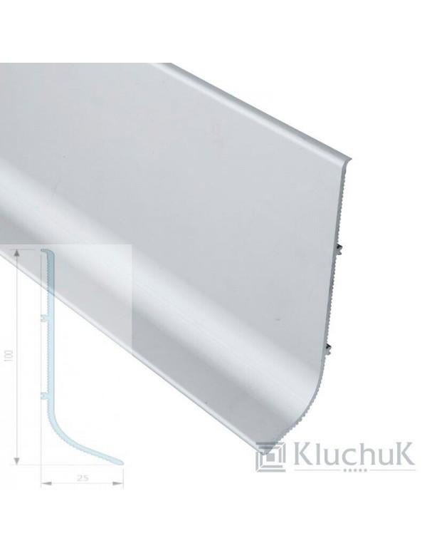 Плинтус Kluchuk Алюминиевый Накладной 40