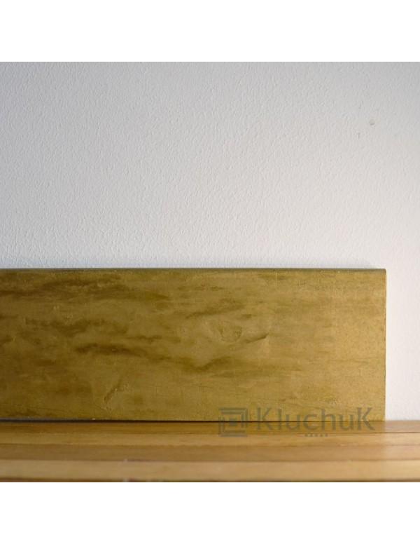 Плинтус Kluchuk LOFT PLINT Старое Золото 80