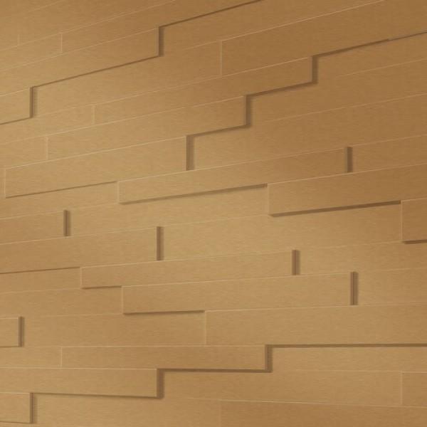Стеновая панель Meister SP300 Золотистый металлик