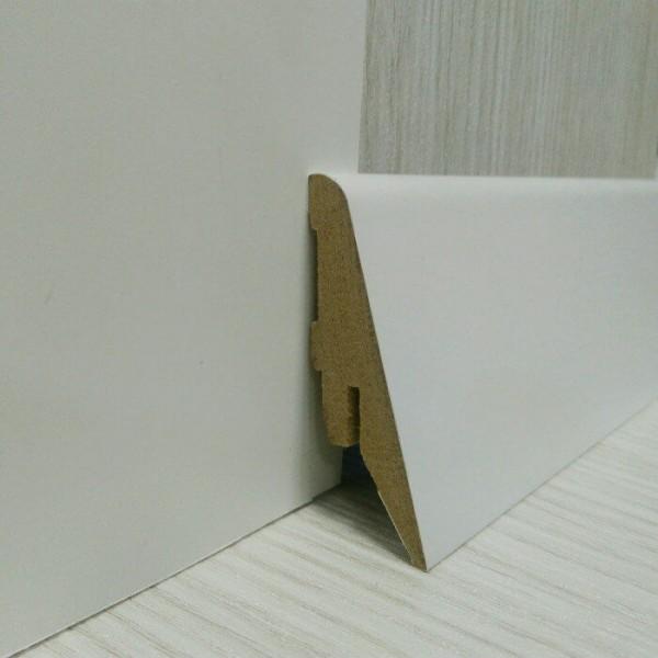 Плинтус Elite Floor 1255 Белый
