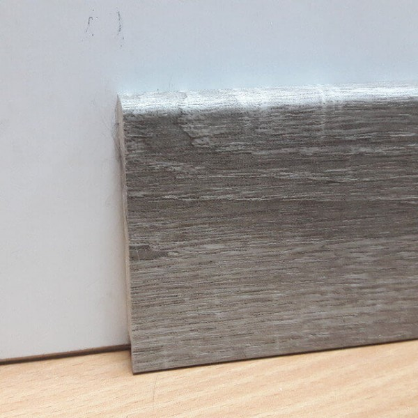 Плинтус Elite Floor 1255 Дуб Сонома Серый