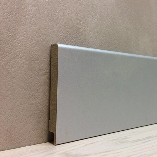 Плинтус Elite Floor 1280 Алюминий
