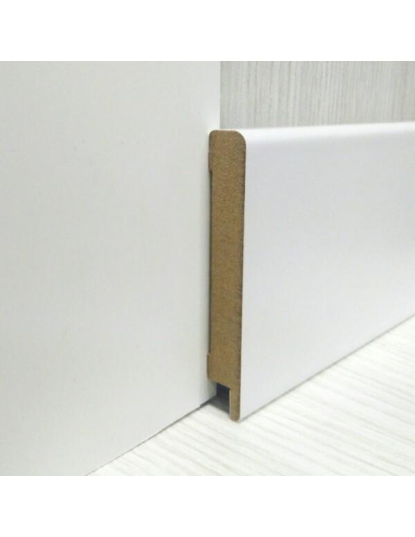 Плинтус Elite Floor 1280 Белый