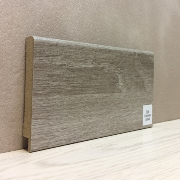 Плинтус Elite Floor 1280 Дуб Сонома Серый