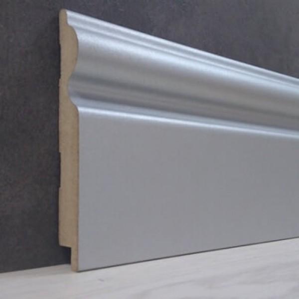 Плинтус Elite Floor 16110 Алюминий