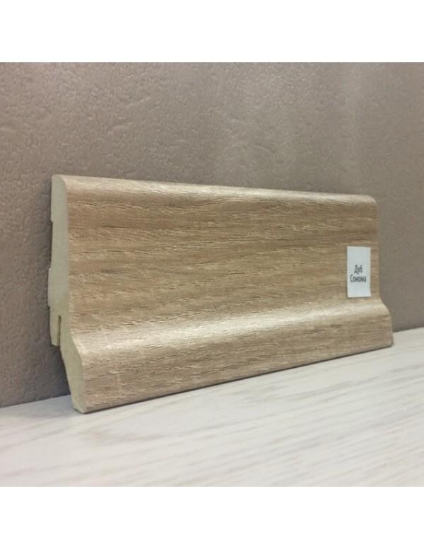 Плинтус Elite Floor 1662 Дуб Сонома