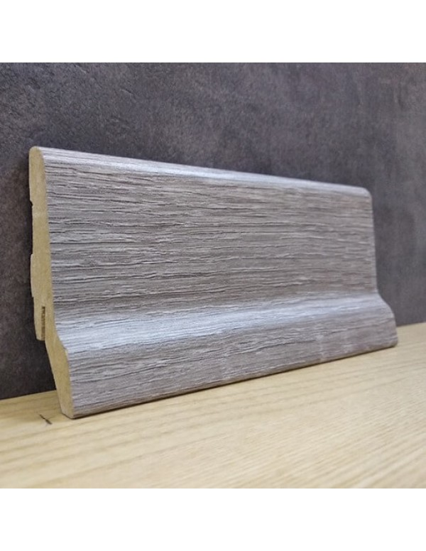Плинтус Elite Floor 1662 Дуб Сонома Серый