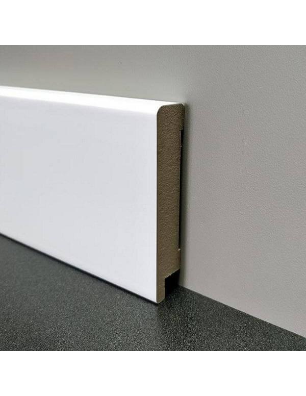 Плинтус Elite Floor 1680 Белый
