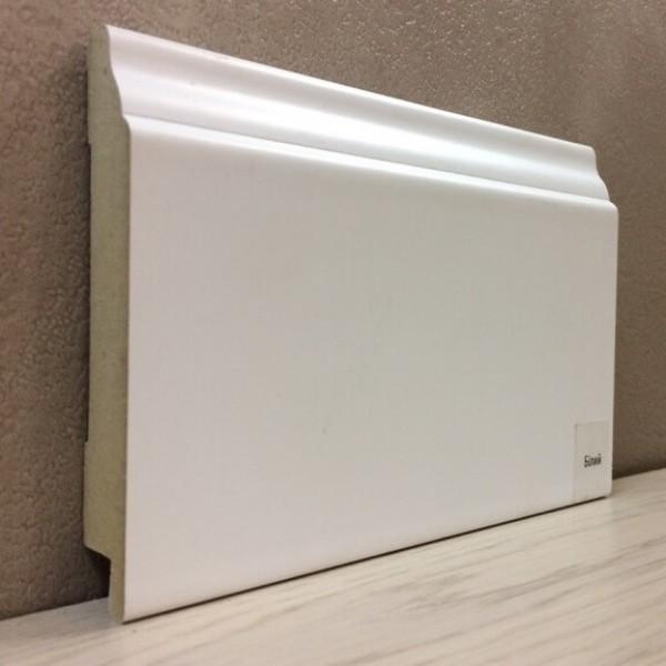 Плинтус Elite Floor 1695 Белый