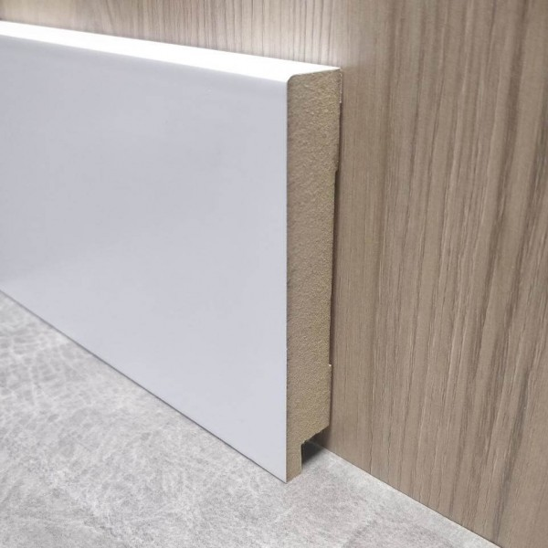 Плинтус Elite Floor 1699 Белый