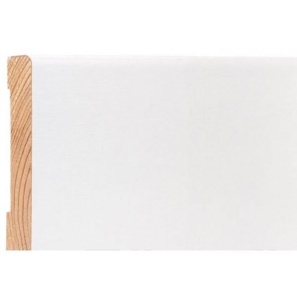 Плинтус Kluchuk WHITE PLINTH 100*19*2200 Профиль Модерн